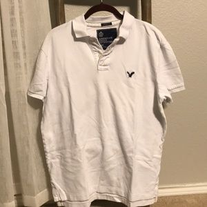 American Eagle Outfitters Athletic Fit Polo Medium